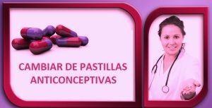 Cambiar de pastillas anticonceptivas