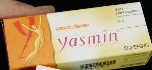 Pastillas anticonceptivas yasmin