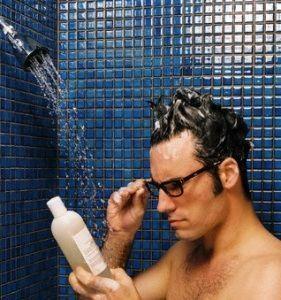 Pastillas en shampoo